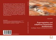 Buchcover von Ärgerregulation und subjektives körperliches Wohlbefinden