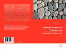 Capa do livro de Arthrose der kleinen Fingergelenke