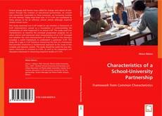 Characteristics of a School-University Partnership kitap kapağı