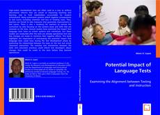 Bookcover of Potential Impact of Language Tests