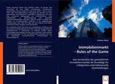 Capa do livro de Immobilienmarkt - Rules of the Game