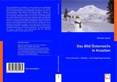 Bookcover of Das Bild Österreichs in Kroatien