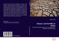 Buchcover von Wasser und Konflikt in Afrika
