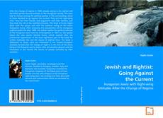 Обложка Jewish and Rightist: Going Against the Current