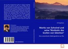 """Capa do livro de Moritz von Schwind und seine """"Rückkehr des Grafen von Gleichen"""""""
