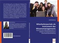 Bookcover of Mitarbeiterportale als Instrument des Wissensmanagements