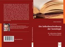 Die Selbstbeschreibung der Soziologie kitap kapağı