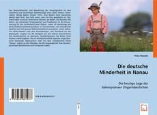 Buchcover von Die deutsche Minderheit in Nanau