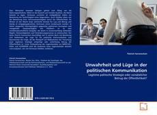 Couverture de Unwahrheit und Lüge in der politischen Kommunikation