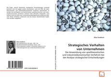 Capa do livro de Strategisches Verhalten von Unternehmen