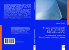 Buchcover von Die Europäische Integration und die subnationalen Gebietskörperschaften