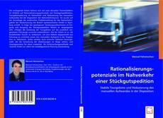 Buchcover von Rationalisierungspotenziale im Nahverkehr einer Stückgutspedition