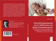 Buchcover von Entwicklungsprognose durch SNAP-Score und Bayley-Entwicklungstest