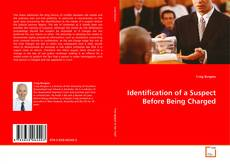 Bookcover of Identification of a Suspect Before Being Charged