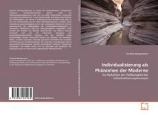 Portada del libro de Individualisierung als Phänomen der Moderne