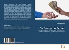 Portada del libro de Die Finanzen der Parteien
