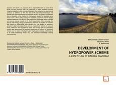 Bookcover of DEVELOPMENT OF HYDROPOWER SCHEME