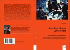 Buchcover von Spieltheoretische Lernansätze