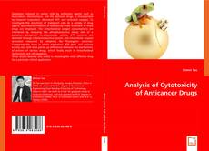 Обложка Analysis of Cytotoxicity of Anticancer Drugs