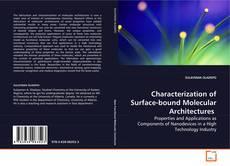 Borítókép a  Characterization of Surface-bound Molecular Architectures - hoz