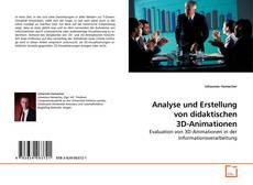 Capa do livro de Analyse und Erstellung von didaktischen 3D-Animationen
