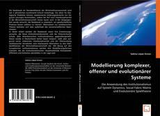 Copertina di Modellierung komplexer, offener und evolutionärer Systeme