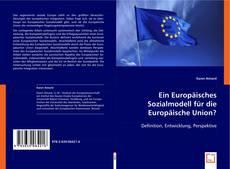 Ein Europäisches Sozialmodell für die Europäische Union? kitap kapağı