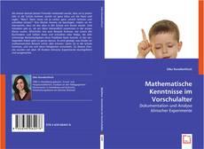 Buchcover von Mathematische Kenntnisse im Vorschulalter