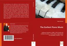 Bookcover of The Earliest Piano Music: