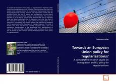 Towards an European Union policy for regularizations? kitap kapağı