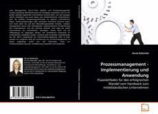 Prozessmanagement - Implementierung und Anwendung的封面