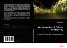 Capa do livro de On the Notion of Culture and Identity