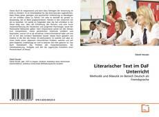 Обложка Literarischer Text im DaF Unterricht