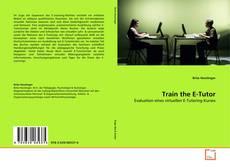 Capa do livro de Train the E-Tutor