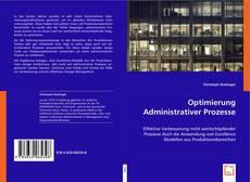 Bookcover of Optimierung Administrativer Prozesse