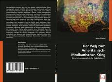 Capa do livro de Der Weg zum Amerikanisch-Mexikanischen Krieg