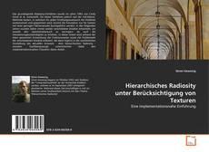 Buchcover von Hierarchisches Radiosity unter Berücksichtigung von Texturen