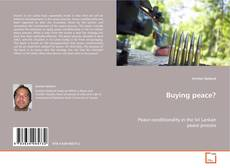 Bookcover of Buying peace?