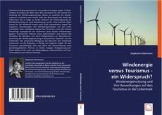 Buchcover von Windenergie versus Tourismus - ein Widerspruch?