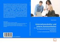 Borítókép a  Unternehmenskultur und Interne Kommunikation - hoz