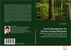 Forest Management for Climate Change Mitigation kitap kapağı