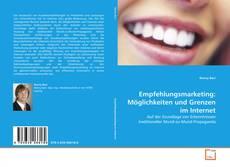 Buchcover von Empfehlungsmarketing: Möglichkeiten und Grenzen im Internet