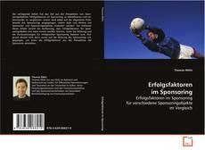 Erfolgsfaktoren im Sponsoring kitap kapağı