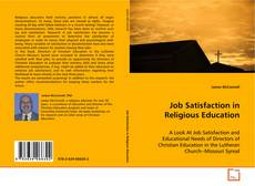Portada del libro de Job Satisfaction in Religious Education
