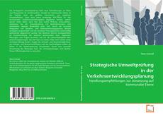 Capa do livro de Strategische Umweltprüfung in der Verkehrsentwicklungsplanung