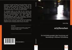 Buchcover von er(z)forschen