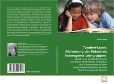 Portada del libro de Tandem-Lesen: Aktivierung der Potentiale heterogener Lerngruppen.