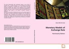 Buchcover von Monetary Models of Exchange Rate