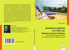 Copertina di Qualitätsvergleiche mit Hilfe der Mystery-Guest-Analyse