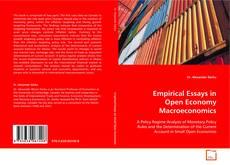 Empirical Essays in Open Economy Macroeconomics的封面